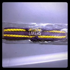 Los Angeles laker bracelet